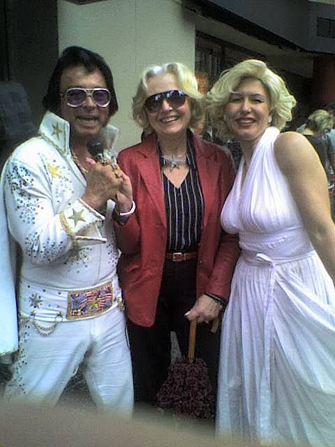 Elvis, Gayle, Marilyn