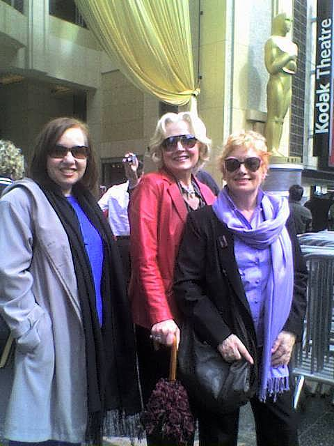 Miriam, Gayle, Rosie at the Oscars
